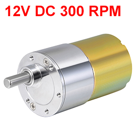 Uxcell New 1PCS ZGA37RG DC 12V 300RPM 7.2W Gear Motor High Torque Reduction Gearbox Eccentric Output 15.3x5.9mm D Shaft for M3 брюки для беременных one plus one цвет темно синий v632335 размер 52