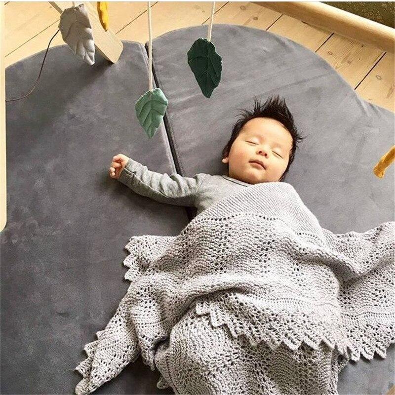 Bébé Gym Playmate enfants jouer tapis nuage tapis jeu ramper couverture tapis pour enfants jouer tapis pliable rond enfant chambre décor - 2