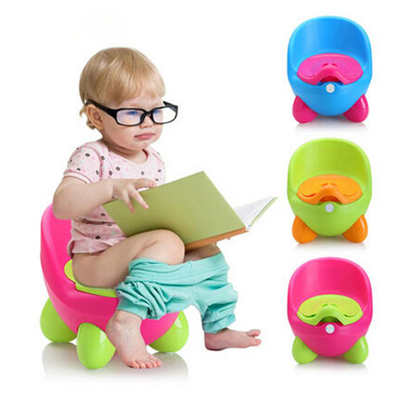 Baby Potty Toilet Car WC For Kids Toilet Trainer Girls Seat Chair Comfortable Portable Animal Pot For Free Potty Brush