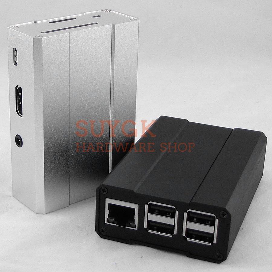 Aluminum Case Metal For Raspberry PI 3 Model B+plus Raspberry PI 2 B Metal Box Aluminum Box Cover Shell Enclosure Housing