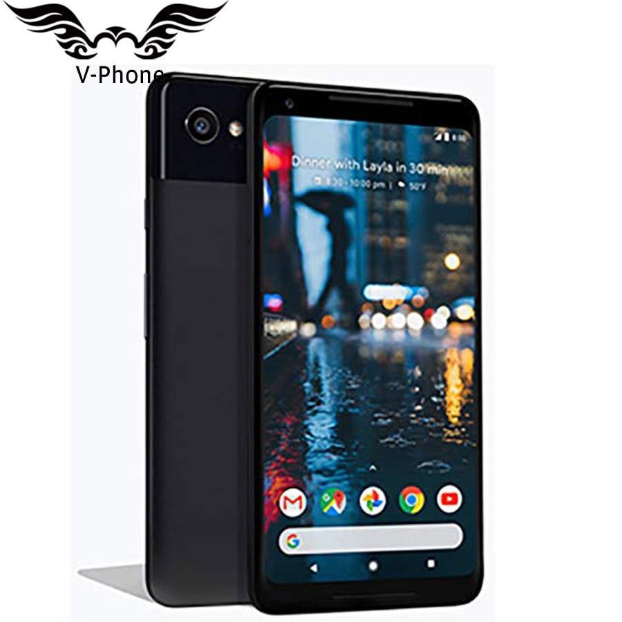 New Original 6 Inch EU Version Google Pixel 2 XL Global Mobile Phone Snapdragon 835 Octa Core 4GB 128GB 4G LTE NFC EU Phone