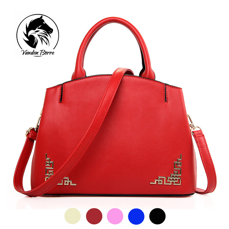 ФОТО Chinese traditional style classic vintage women handbag PU leather Casual Tote bag Ladies folk style shoulder bag