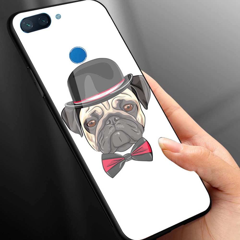 Custom Print Photo DIY Customize image Phone Tempered Glass Case For Xiaomi Redmi 9 MI8 8SE MIX 2 2S 3 Note7 in Fitted Cases from Cellphones Telecommunications