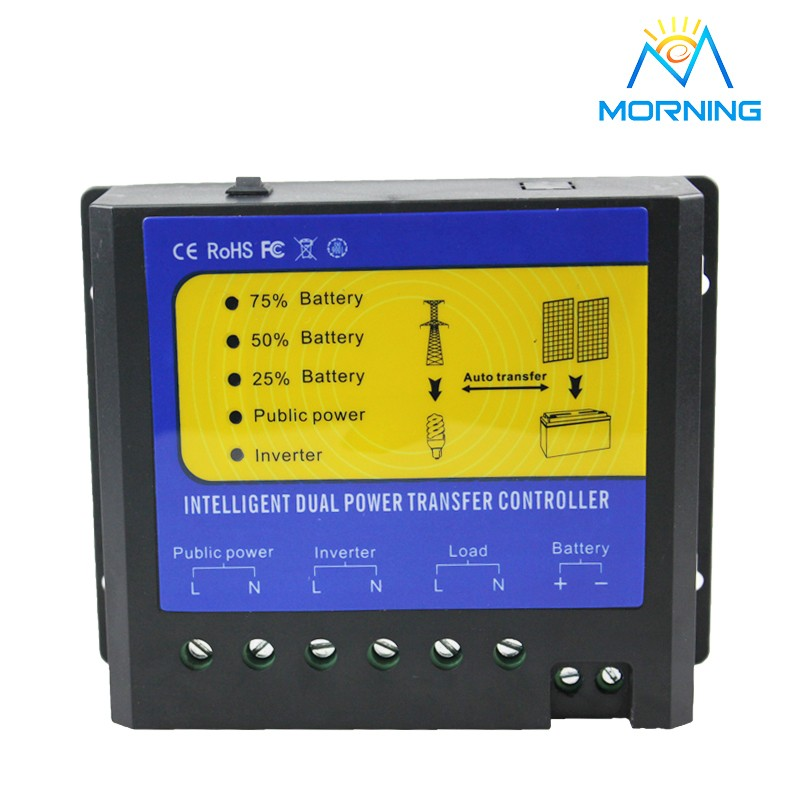 ФОТО Q4500W system voltage 48V  and AC110V-120V power transfer controller for solar system or wind system