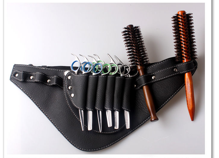 Free Shipping Salon Barber Scissors Bag Scissor Clips Shears Shear Bags Tool Hairdressing Holster Pouch Holder Case Belt B31 In Hair From Beauty