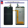 High Qaulity For Lenovo S660 Lcd Display Assembly Complete + Touch Screen Digitizer Sensor 4.7 inch Free Shipping + Tracking