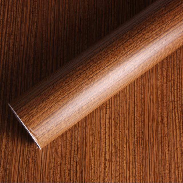 Self Adhesive Vinyl Wood Grain Textured Car Wrap Stickers Wallpaper Furniture Film