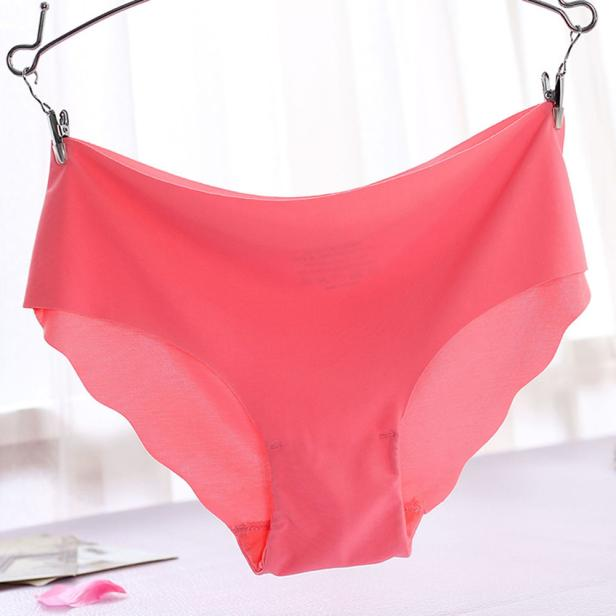 86a26a158 Women Underwear Ladies Boxer Briefs Invisible Underpant Invisible ...