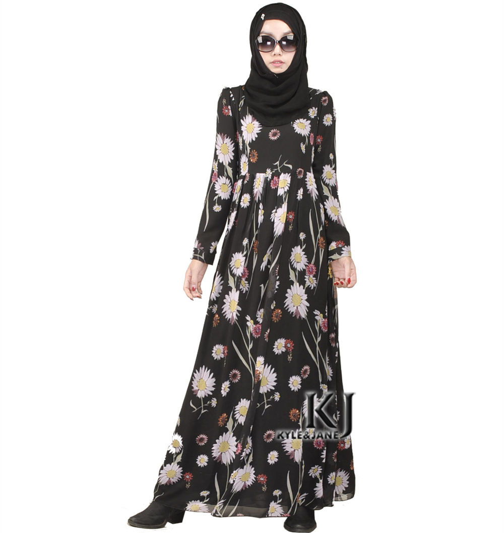Fashion Muslim Dress font b Abaya b font In Dubai Traditional font b Islamic b font