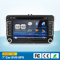 2 DIN 7''  Car dvd player For VW GOLF JETTA POLO TOURAM PASSAT B6 with GPS touch screen ,steering wheel control,stereo,radio,usb