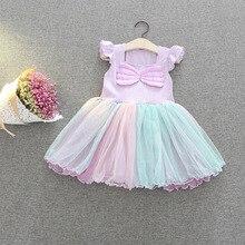 Купить с кэшбэком Girl Mermaid Dress for Kids Snow White Cosplay Costume Cartoon Pattern Baby Girl Princess Dress Christmas Dress up Kids Girls