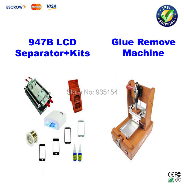 Glass LCD Separator Split Screen Repair Machine for Samsung Tablet PC + Glue Remover Machine
