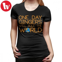 857106e7d One Day T-Shirt Funny Ginger Hair T Shirt One Day Gingers Will Rule The