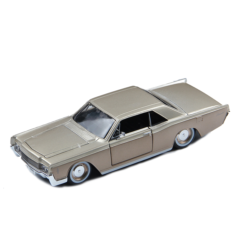 1:26 Lincoln Continental Retro Master Model,static Simulation Alloy Car Model,collection&gift,die-cast Metal,free Shipping