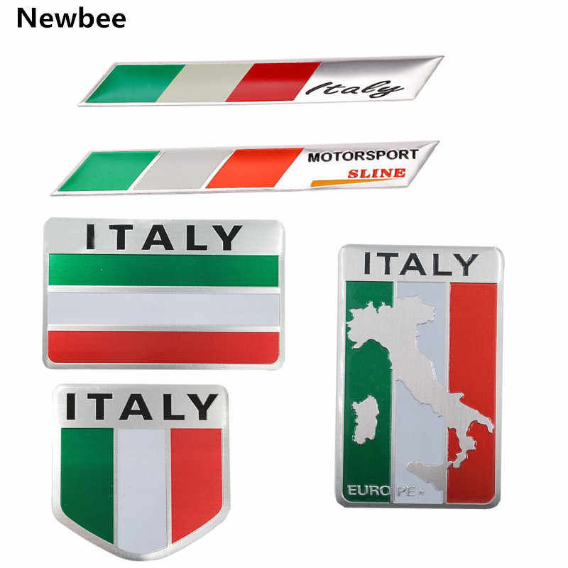 Detail Feedback Questions About Newbee Metal Italy Flag Emblem Badge