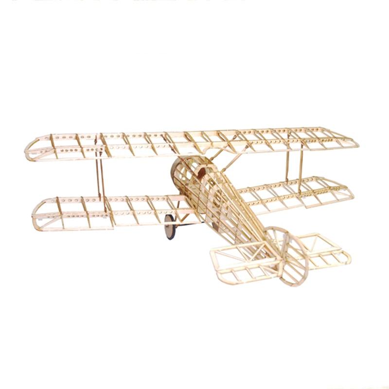 Mini Camel Fighter 380mm Wingspan Balsa Wood Laser Cut RC Airplane Kit