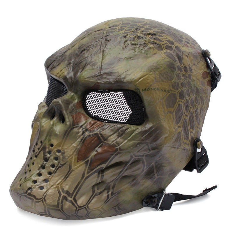 Cheifs M06 Airsoft Full Face Mask(MAD)1