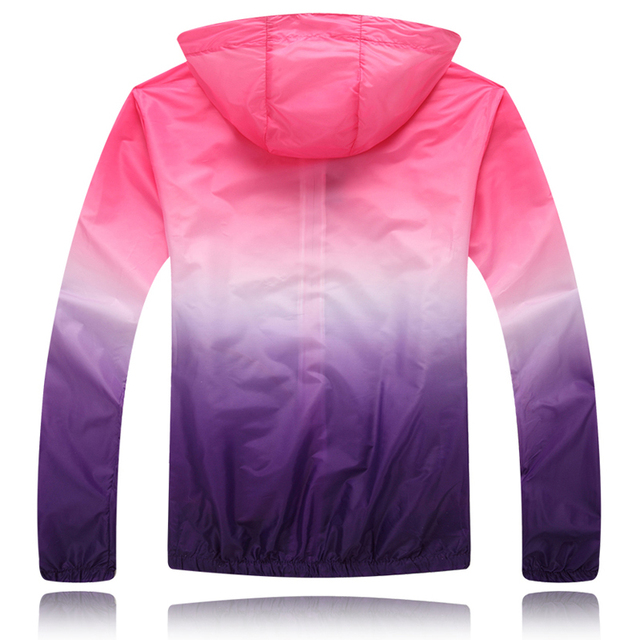 Sweethearts Sun Protective Clothing Spring and Summer Outdoors Long Sleeve UV Thin Coat Unisex Women Men Girls 2