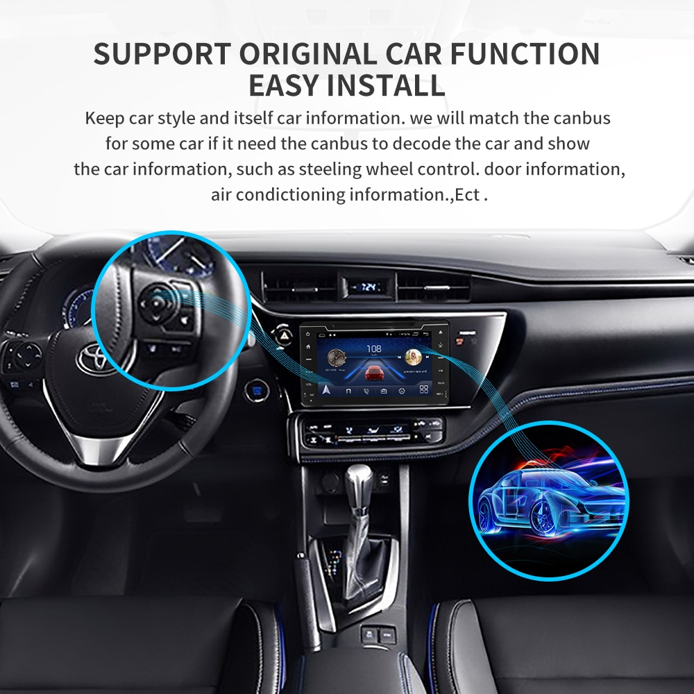 Perfect IPS touch screen DSP sound Android 9.0 2 DIN 4g Lte radio For JEEP Grand Cherokee GPS DVD player stereo navigation 14