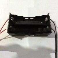 Параллельной цепи 2x18650 3.7 В Перезаряжаемые литий-ионный Батареи держатель Box 3 В Батарея Полосатый чехол с 4 кабели