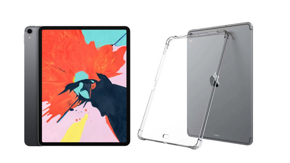 Image 2 - Clear Transparent Silicon TPU Case For iPad Pro 11Inch Cover Case For iPad Pro Case Slim Tablet Cover For iPad pro 11 inch-in Tablets & e-Books Case from Computer & Office