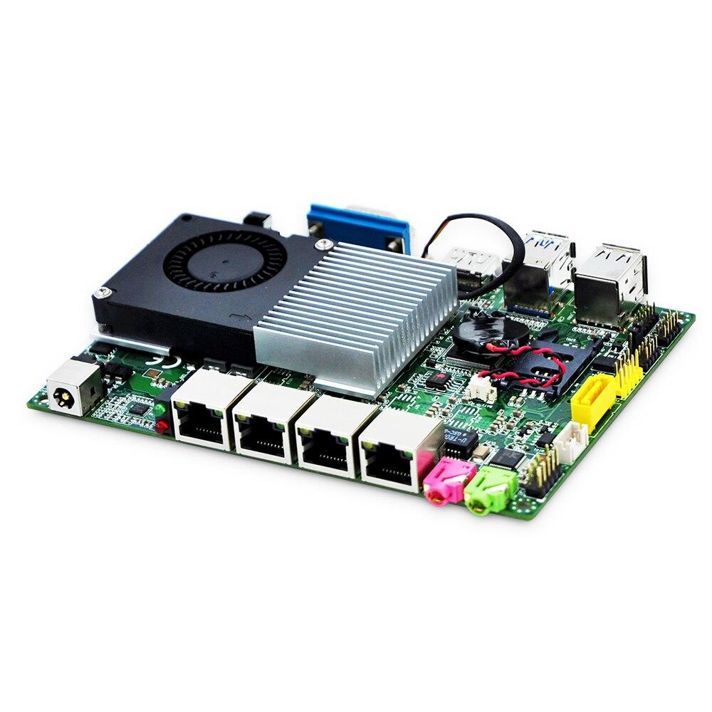 Qotom 4 Gigabit Nics Mini PC carte mère Q4500UG4-P processeur 3G/4G fonction, Pfsense routeur pare-feu