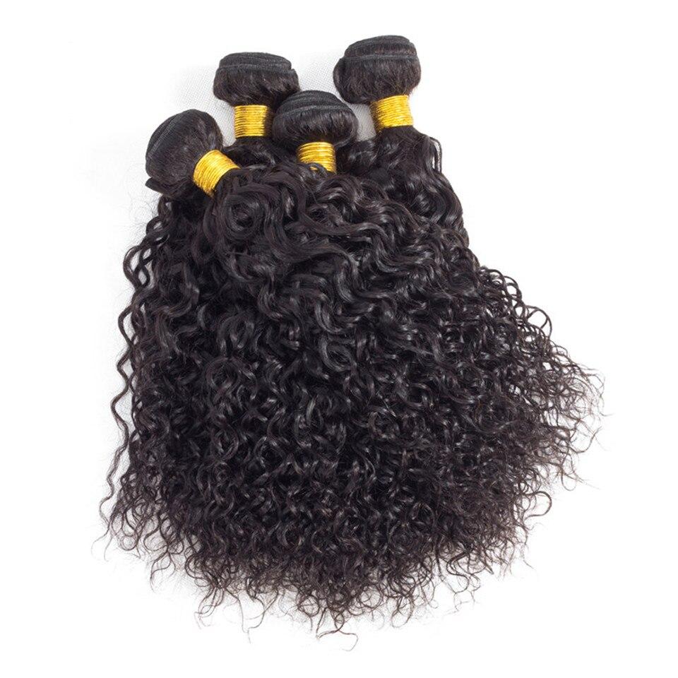 Haarsalon Versorgungskette Mode Plus Verworrene Lockige Haar Bundles Deal Raw Indisches Haar Bundles 1/3/4 Stück Menschliche Haarwebart Erweiterung Natürliche Farbe Dauerhafter Service Salon Bündel-haare