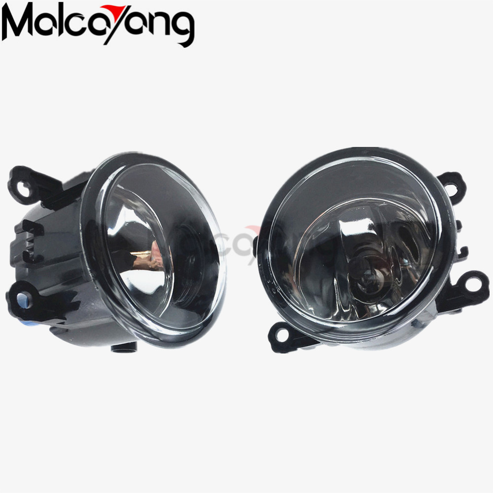 2 Pcs/Set For Renault MEGANE 2 estate 2002-2015 Front Fog Lamps Fog Lights Halogen Car Styling 35500-63J02 renault megane coupe 1999