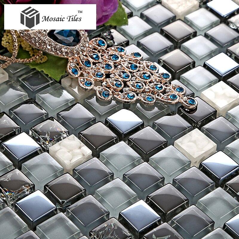 Acquista all'ingrosso online bagno piastrelle a mosaico idee da ...