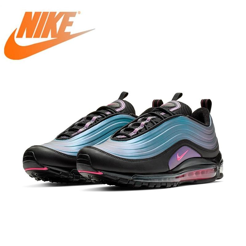 Chaussures de course pour hommes Nike Air Max 97 LX authentiques chaussures de sport de plein Air chaussures confortables nouveau 2019AV1165-001