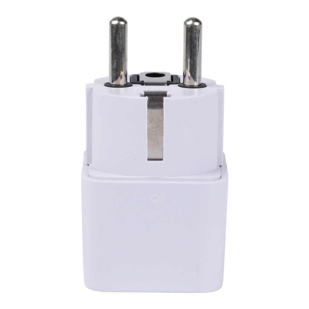 20 sztuk/partia gniazdo elektryczne uniwersalny wielka brytania usa AU do ue AC gniazdo zasilania wtyczka adapter ładowarka podróżna konwerter 220 V 10A gniazdo