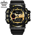 SMAEL Men Watches Top Brand Luxury Quartz Digital Watch Men Military Clock Male LED Sports Waterproof Watches Relogio Masculino