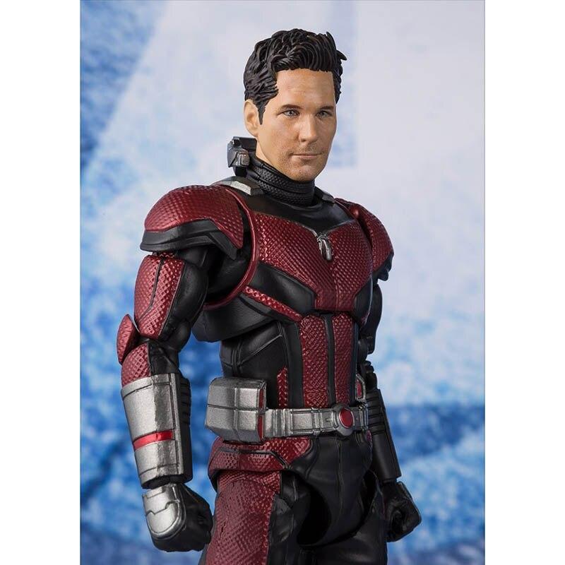 Avengers 4 Endgame SHFiguarts Ant Man Infinity War Action Figure Model Toy Doll Christmas Gift (13)