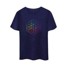 Top band clothing coldplay Britpop Alternative Rock Cotton  T-shirt Tee SHIRT t shirt Short Sleeve Sleeve Men Women Hip Hop Tee