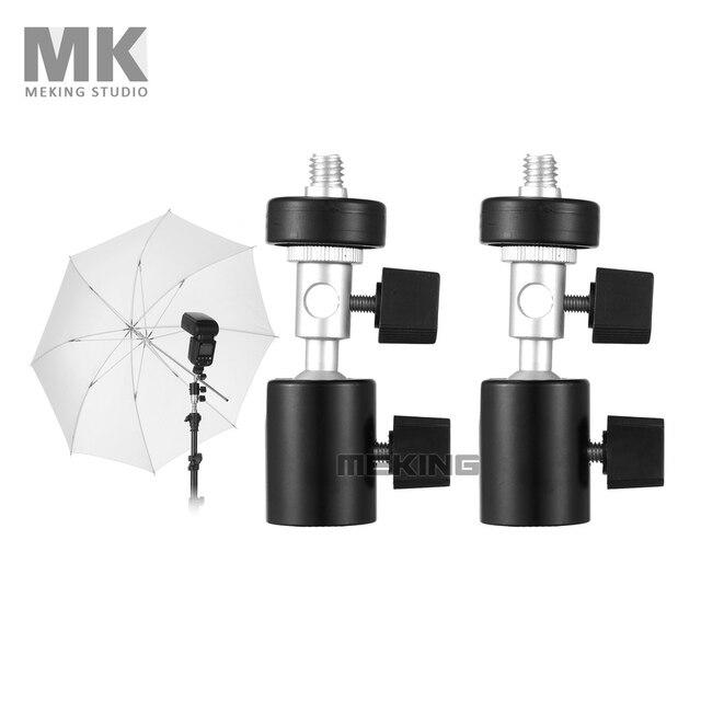 Meking Ball Head Umbrella Flash Mount Holder Bracket C Tripod adapter for Tripod accessory