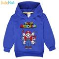 Jiuhehall Hot Sale Spring Autumn Children Hoodies Boy Girl Cartoon Games Character Print Sweatshirts Long Sleeve Kid Tops FCM108
