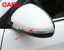 For Hyundai Tucson 2016 2017 Chrome Car Exterior Side Rearview Mirror Protectors Molding Trim Accessories