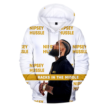 2019 New Hot Sale 3D Rep nipsey hussle Print Casual Long Sleeve hooded Women/men Clothes Hoodies Plus Size 4XL