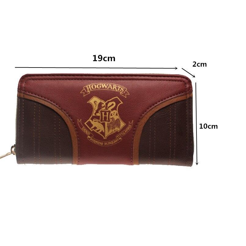 Harry Potter's Hogwarts Gold Crest Zip Up Wallet (5)