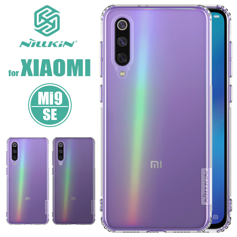 for Xiaomi Mi 9 8 SE Mi 9 Lite Case Nillkin TPU 0.6mm Clear Soft Touch Silicone Back Cover Phone Case for Xiaomi Mi9 Mi8 SE Case