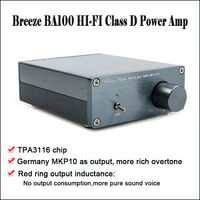 Breeze Audio BA100 Class D Power Amplifier Audio Amp TAP3116 Amplifier Hi fi Audio Amplifier Home Amplifiers