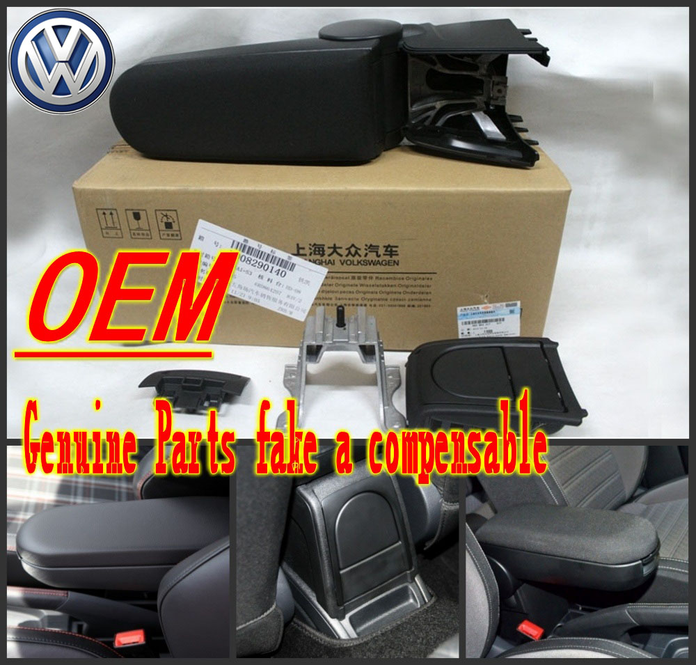 The new Polo CROSS GTI armrest with cup holder Polo boxes bag storage boxes storage console