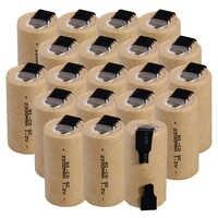 Niedrigsten preis 20 stück SC batterie 1,2 v batterien wiederaufladbare 2200 mAh nicd batterie für power werkzeuge akkumulator