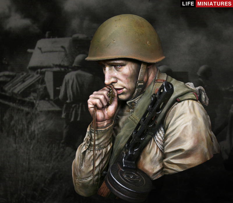 WW2 Young Red Army Infantryman, juli 1943, Battle of Kursk