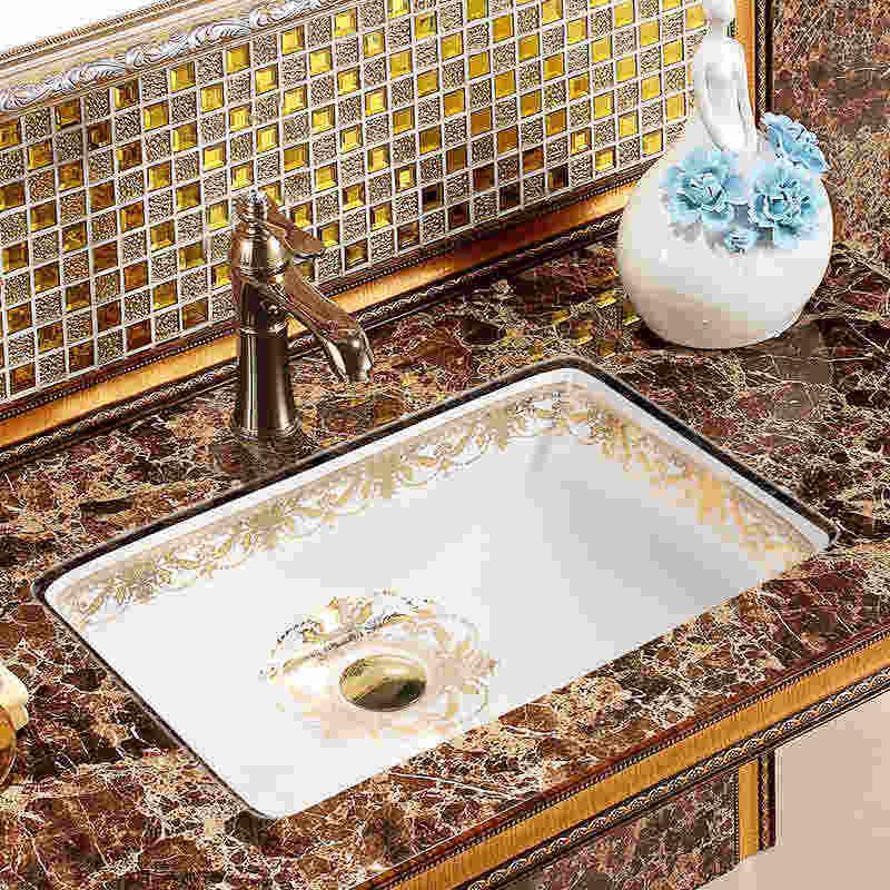 Oval Undercounter Bathroom Sink