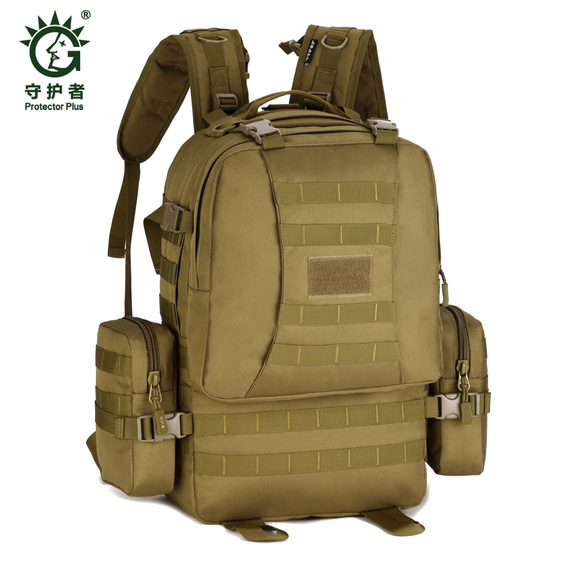 Field Tactical Hiking training Pack Outdoor 50L  Climbing package  Man Big Large Ride Travel Backpack Bag Advanced Tactical field tactical chest sling pack outdoor sport a4 one single shoulder man big large ride travel backpack bag advanced tactical