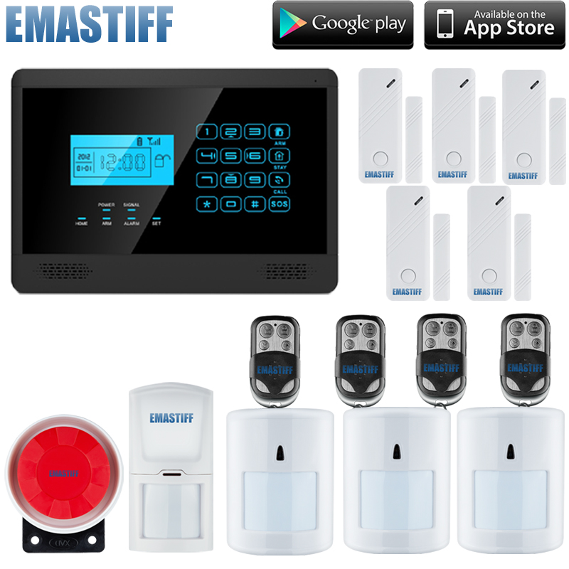 DIY Full Complete Wireless GSM Home/ Office Security Alarm System+ 3Pet Friendly Sensors