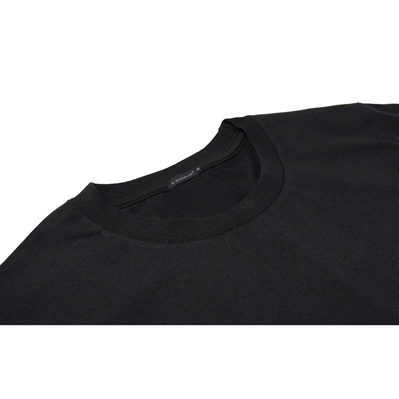 Mr.1991INC Black Pure Cotton tshirt Tide Brand Seamless Short Sleeve Mens Tops Tees Starry Sky Sika Deer 3d Print Tees