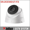 HIK DS-2CE56D1T-IT3 HD720P Câmera EXIR Turret 2 Megapixel CMOS IP66 À Prova de Intempéries Câmera Torre com 40 m Faixa de IR