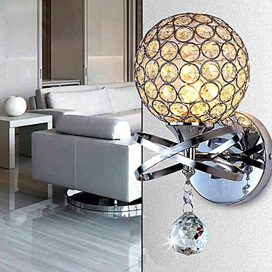 Fashion Crystal Wall Sconce Modern LED Wall Light Fixtures For Home Bedroom Bedside Wall Lamps Lampara Pared G9 Metal simple art modern led wall light fixtures for home indoor lighting acrylic round wall sconces bedside wall lamps lampara pared